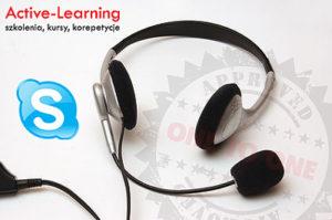 Dobrze przygotowane kursy via Skype